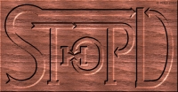 MetaRealisticArt: STHOPD-Logo-12f-Mahogany-RGES