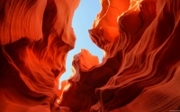 Collection\Msft\Landscapes: Hint-of-Sky-Lower-Antelope-Canyon-Arizona-US
