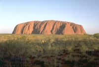 Landscape: Red-Rock---Australia